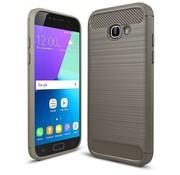 GSMWise Samsung Galaxy A5 (2017) Geborsteld TPU Back Case Hoesje - Grijs