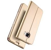 GSMWise Samsung Galaxy A5 (2017) PU lederen Bookcase Hoesje met Kaarthouder - Goud