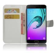 GSMWise Samsung Galaxy A3 (2017) PU lederen TPU Portemonnee hoesje met Kaarthouder Lychee - Wit