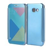 GSMWise Samsung Galaxy A3 (2017) Doorzichtige Window View Book Case - Licht Blauw