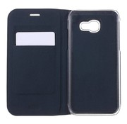GSMWise Samsung Galaxy A3 (2017) Luxe Flipcover Hoesje - Book Case Cover - Lyche Donker Blauw