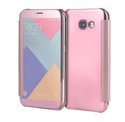 GSMWise Samsung Galaxy A3 (2017) Doorzichtige Window View Book Case - Roze