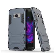 GSMWise Samsung Galaxy S8 Plus - Ultra Hybride Hardcase Hoesje met standaard - Donker Blauw