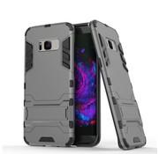 GSMWise Samsung Galaxy S8 Plus - Ultra Hybride Hardcase Hoesje met standaard - Grijs