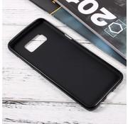 GSMWise Samsung Galaxy S8 Zachte Frosted TPU Hoesje Anti-slip Back Case - Mat Zwart