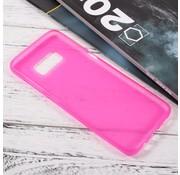 GSMWise Samsung Galaxy S8 Zachte Frosted TPU Hoesje Anti-slip Back Case - Mat Roze