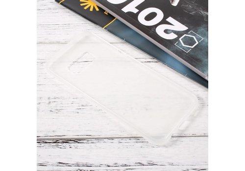 Samsung Galaxy S8 Zachte Frosted TPU Hoesje Anti-slip Back Case - Mat Transparant