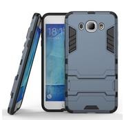 GSMWise Samsung Galaxy J7 (2016) Hybride Hardcase Stevig Hoesje met standaard - Donker Blauw