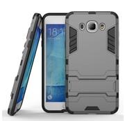 GSMWise Samsung Galaxy J7 (2016) Hybride Hardcase Stevig Hoesje met standaard - Grijs