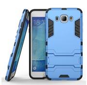 GSMWise Samsung Galaxy J7 (2016) Hybride Hardcase Stevig Hoesje met standaard - Blauw