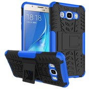 GSMWise Samsung Galaxy J7 (2016) Ultra Hybride Hardcase Stevig Hoesje met standaard - Blauw