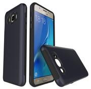GSMWise Samsung Galaxy J7 (2016) Stevige Hybride Beschermhoesje Backcover Shockproof - Donker Blauw