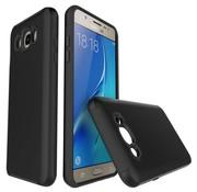 GSMWise Samsung Galaxy J7 (2016) Stevige Hybride Beschermhoesje Backcover Shockproof - Zwart