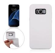 GSMWise Samsung Galaxy S8 Plus - Zachte TPU Hoesje Anti-slip Back Case - Wit