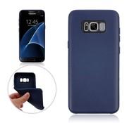 GSMWise Samsung Galaxy S8 Plus - Zachte TPU Hoesje Anti-slip Back Case - Donker Blauw