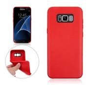 GSMWise Samsung Galaxy S8 Plus - Zachte TPU Hoesje Anti-slip Back Case - Rood