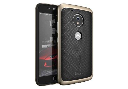 Motorola Moto G5 - Hybride TPU Backcase Hardcase Stevig Hoesje - Goud