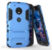 GSMWise Motorola Moto G5 - Hybride Hardcase Stevig Hoesje met Standaard - Blauw