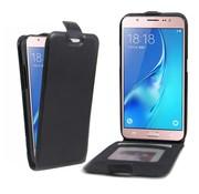 GSMWise Samsung Galaxy J5 (2016) - PU lederen Flip Case met Kaarthouder en Fotohouder - Zwart