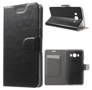 GSMWise Samsung Galaxy J5 (2016) - PU Lederen Case met Kaarthouder - Zwart