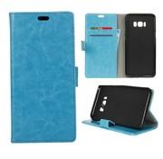 GSMWise Samsung Galaxy S8 PU lederen TPU Portemonnee hoesje met Kaarthouder - Blauw