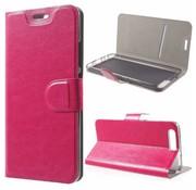 GSMWise Huawei P10 - PU Lederen Case Hoesje met Pashouder - Magenta Hot Pink