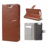 GSMWise Huawei P10 Plus - Portemonnee Hoesje Wallet Case - Bruin