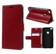 GSMWise Huawei P8 Lite (2017) / Honor 8 Lite - PU lederen hoesje met Kaarthouder en Portemonnee - Rood