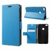 GSMWise Huawei P8 Lite (2017) / Honor 8 Lite - PU lederen hoesje met Portemonnee en Kaarthouder - Blauw