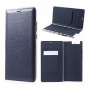 GSMWise Huawei P10 Plus - Portemonnee Hoesje Wallet Case Met Pashouder - Donker Blauw