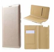 GSMWise Huawei P10 Plus - Portemonnee Hoesje Wallet Case Met Pashouder - Goud