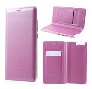 GSMWise Huawei P10 Plus - Portemonnee Hoesje Wallet Case Met Pashouder - Roze