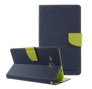 GSMWise Samsung Galaxy Tab A 7.0 Hoesje - Book Case met Portemonnee en Kaarthouder - Donker Blauw