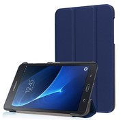 GSMWise Samsung Galaxy Tab A 7.0 Hoesje - PU Lederen Tablet Cover Case - Donker Blauw