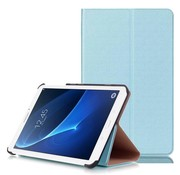 GSMWise Samsung Galaxy Tab A 7.0 Hoesje - Handige Luxe Book Cover Stand Case - Aqua Blauw / Hemelsblauw