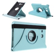 GSMWise Samsung Galaxy Tab A 7.0 Hoesje - 360 graden Draaibare Beschermhoes Tablethoes Cover met Multi-stand - Cyaan Turquoise