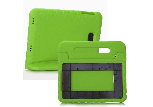 Samsung Galaxy Tab A 10.1 (2016) - Kids Proof Cover Beschermd Tegen Krassen en Stoten - Groen