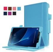GSMWise Samsung Galaxy Tab A 10.1 (2016) - Flip stand Case gemaakt van PU Leer - Licht Blauw