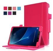 GSMWise Samsung Galaxy Tab A 10.1 (2016) - Flip stand Case gemaakt van PU Leer - Magenta Hot Pink