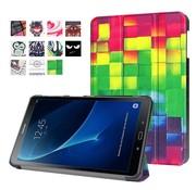 GSMWise Samsung Galaxy Tab A 10.1 (2016) - Smart Case gemaakt van PU Lederen - 3D Visual Effect Checks Design
