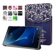 GSMWise Samsung Galaxy Tab A 10.1 (2016) - Smart Case gemaakt van PU Lederen - Vintage Bloem Design