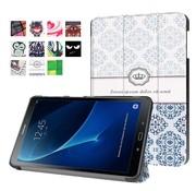 GSMWise Samsung Galaxy Tab A 10.1 (2016) - Smart Case gemaakt van PU Lederen - Damastpatroon Design