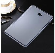 GSMWise Samsung Galaxy Tab A 10.1 (2016) - Matte TPU Hoesje Zachte Back Case - Transparant