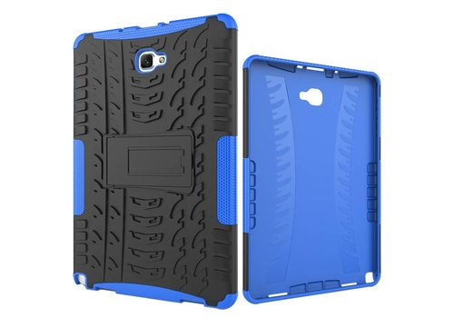 Samsung Galaxy Tab A 10.1 (2016) - Hoesje Stevig Heavy Duty Tablet Case Schokbestendig - Blauw