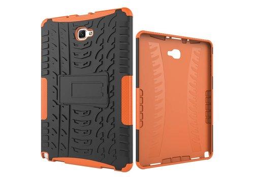 Samsung Galaxy Tab A 10.1 (2016) - Hoesje Stevig Heavy Duty Tablet Case Schokbestendig - Oranje