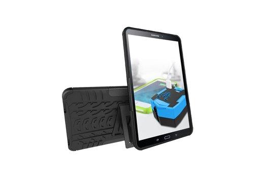 Samsung Galaxy Tab A 10.1 (2016) - Hoesje Stevig Heavy Duty Tablet Case Schokbestendig - Zwart