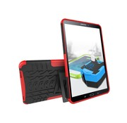 GSMWise Samsung Galaxy Tab A 10.1 (2016) - Stevig Heavy Duty Tablet Case Schokbestendig Met Kickstand - Rood