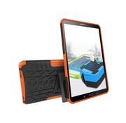 GSMWise Samsung Galaxy Tab A 10.1 (2016) - Stevig Heavy Duty Tablet Case Schokbestendig Met Kickstand - Oranje