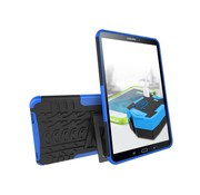 GSMWise Samsung Galaxy Tab A 10.1 (2016) - Stevig Heavy Duty Tablet Case Schokbestendig Met Kickstand - Blauw