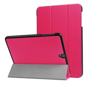 GSMWise Samsung Galaxy Tab S3 9.7 - PU Lederen Case Cover Tri-fold Stand - Rose